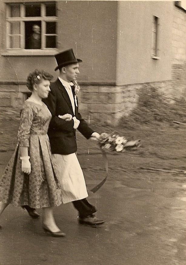 Kirmesgesellschaft 1958/ Archiv Crawinkler- Runde