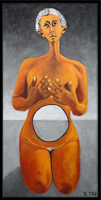 L'infertile, acrylique sur toile 40x20cm, 2013