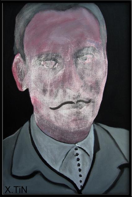 le disparu, acrylique sur toile 41x27cm, 2013