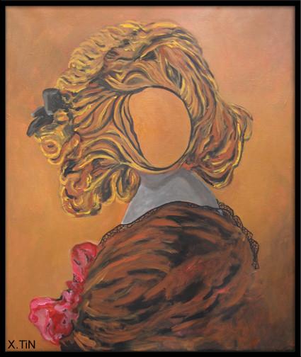 Remember: Gabrielle, acrylique sur toile (55x46cm), 2013
