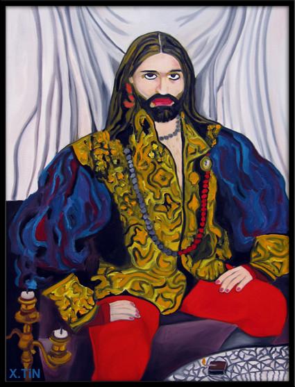 le roi (portrait de Pierre Pascual)
