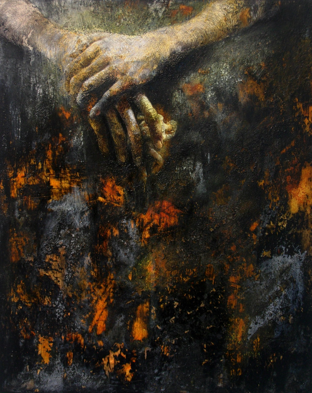 Have mercy on my soul. 2014, 50x40, olio su tavola.