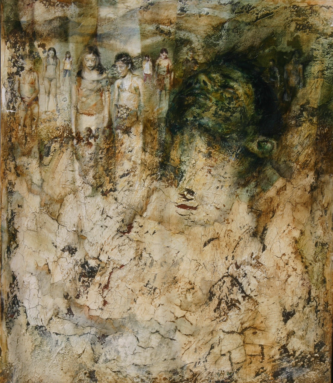 SETE. 2011, 70x60, olio su tela.