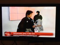 エクアドル放送「TVS」生放送