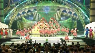 第65回 NHK紅白歌合戦 「オープニングサプライズで連獅子」