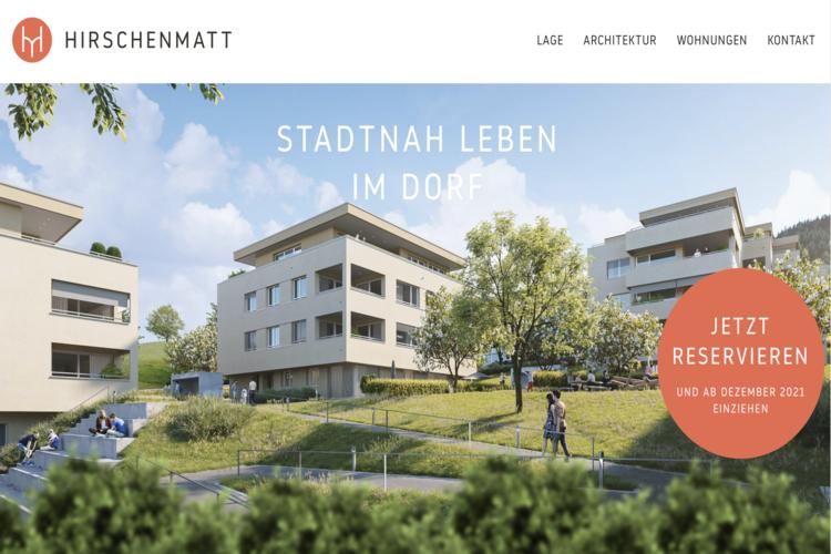 Hirschenmatt: Stadtnah leben im Dorf