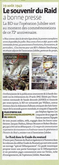 Journal de Bord de Juillet de la Ville de Dieppe