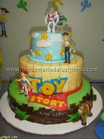 Bolo Toy Story, pasta americana