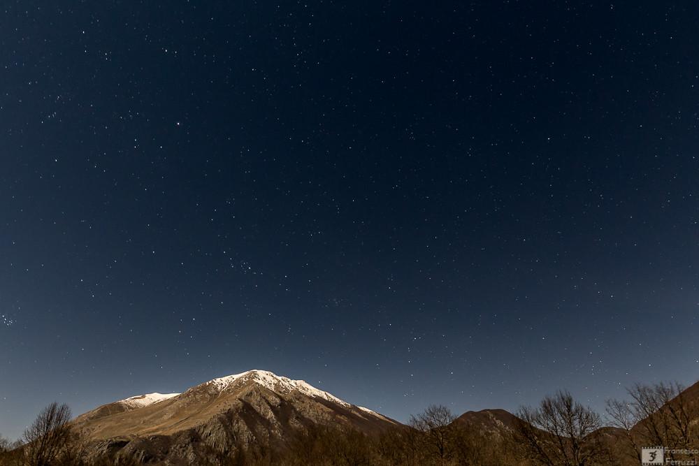 """Monte Forcone, Monte Marsicano e Monte Calanga visti da """"La Camosciara"""" - Parco Nazionale d'Abruzzo"""