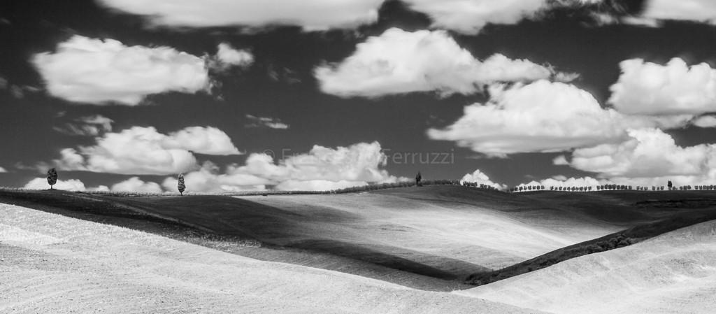 paesaggio colline Val d'Orcia