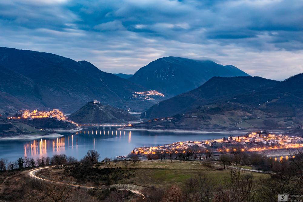 Il lago del Turano - Colle di Tora, Castel di Tora e Ascrea