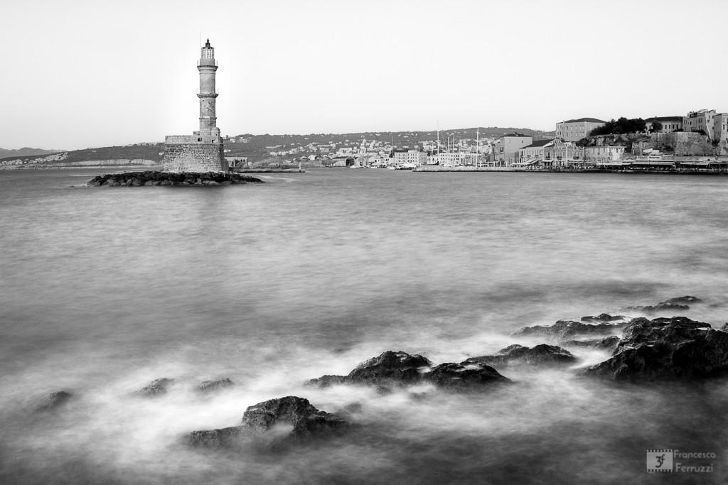 Porto Veneziano con il faro - La Canea - isola di Creta