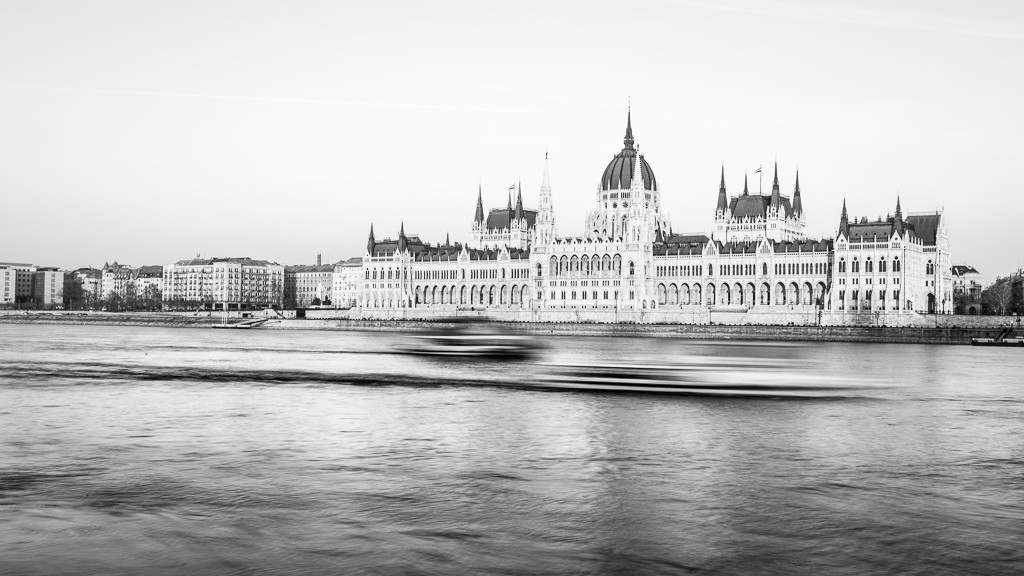 Il Parlamento Ungherese a Budapest, in Ungheria