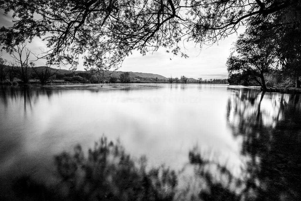 Il lago di Posta Fibreno, in provincia di Frosinone, Lazio