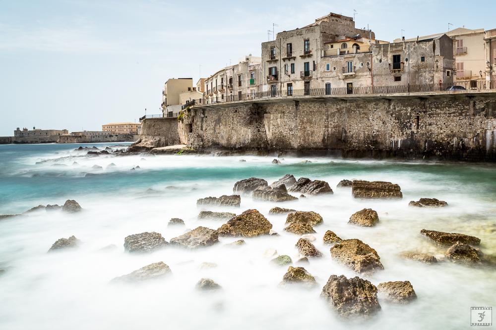 Mare di Siracusa in Sicilia