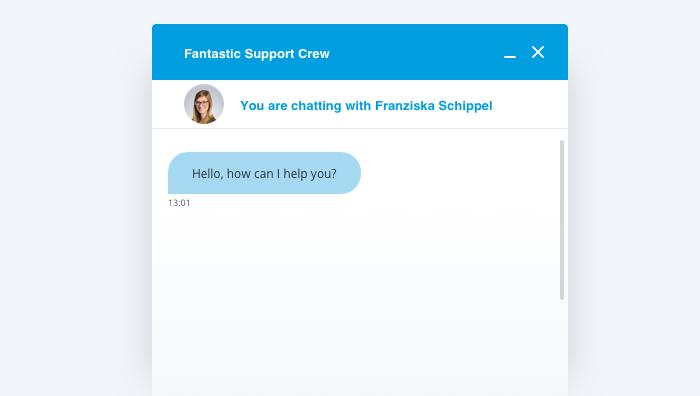 El chat en vivo es una excelente opción para ofrecer soporte a los visitantes de tu sitio web.