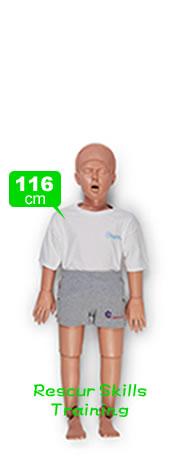 救助訓練マネキン・レスキューマネキン116cm