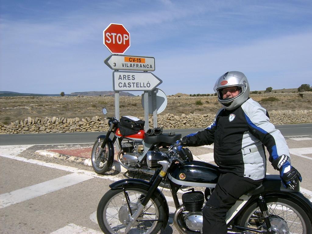 Un Stop en el camino