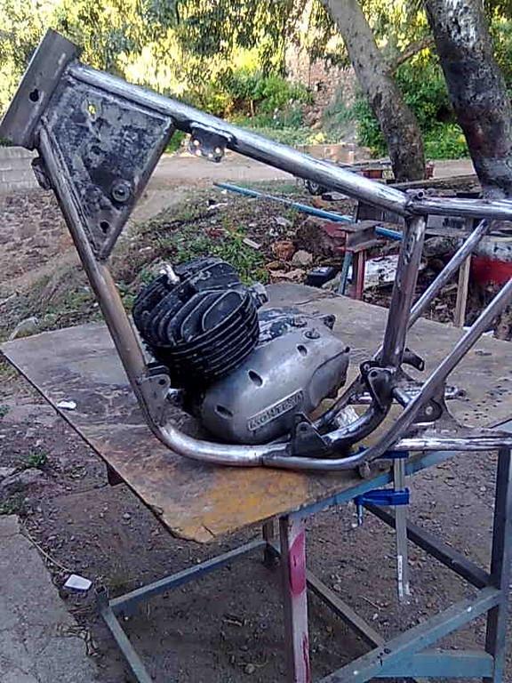 Acoplando motor