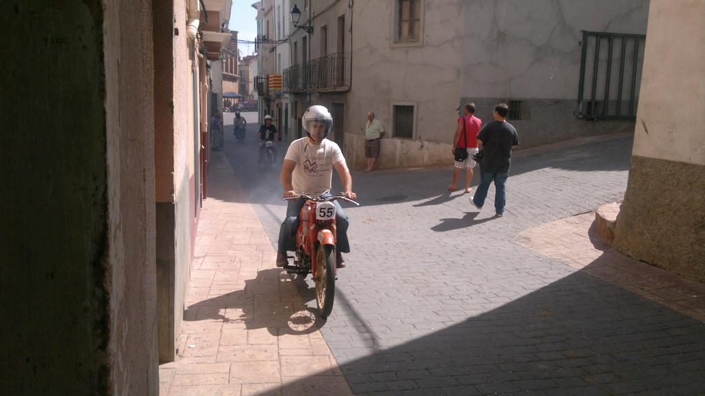 Agapito con guzzi Cardelino + de 100 cc
