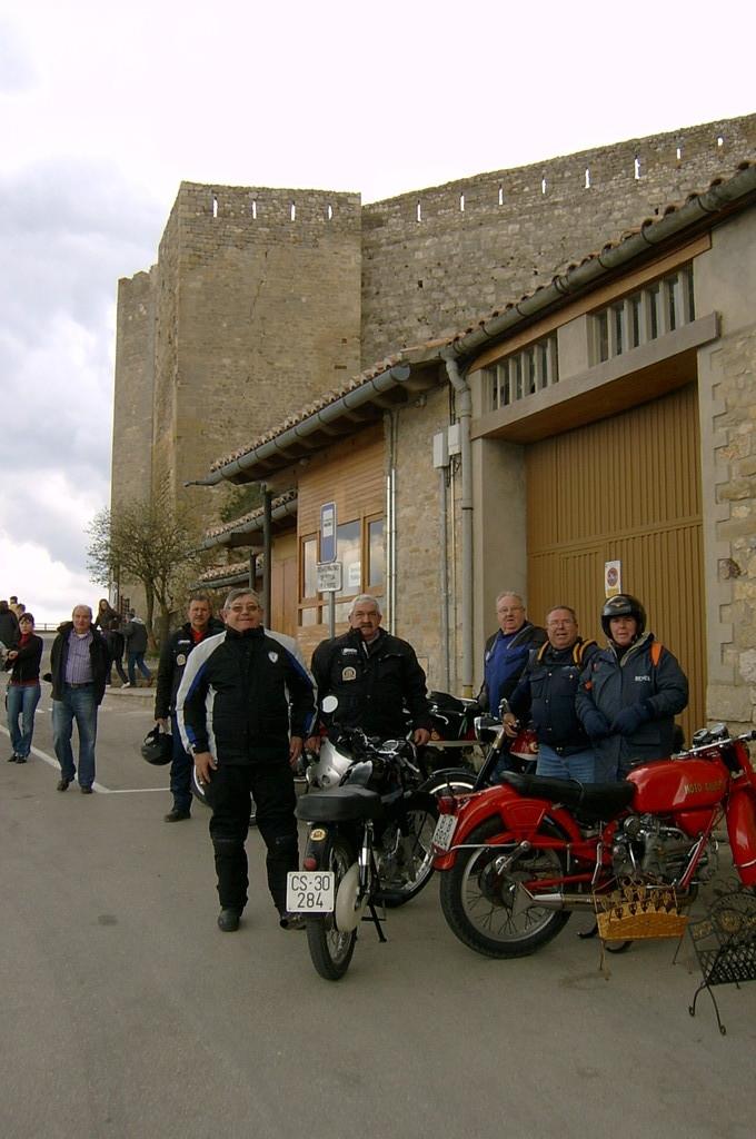 Puesta de San Miguel entrada a Morella