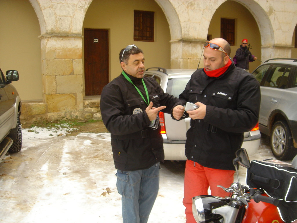 Juan Ramos y Carlos Moliner en San Juan de Peñagolosa