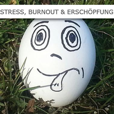 Stress, Burnout, Erschöpfung, Ausgebrannt, Schlafstörungen