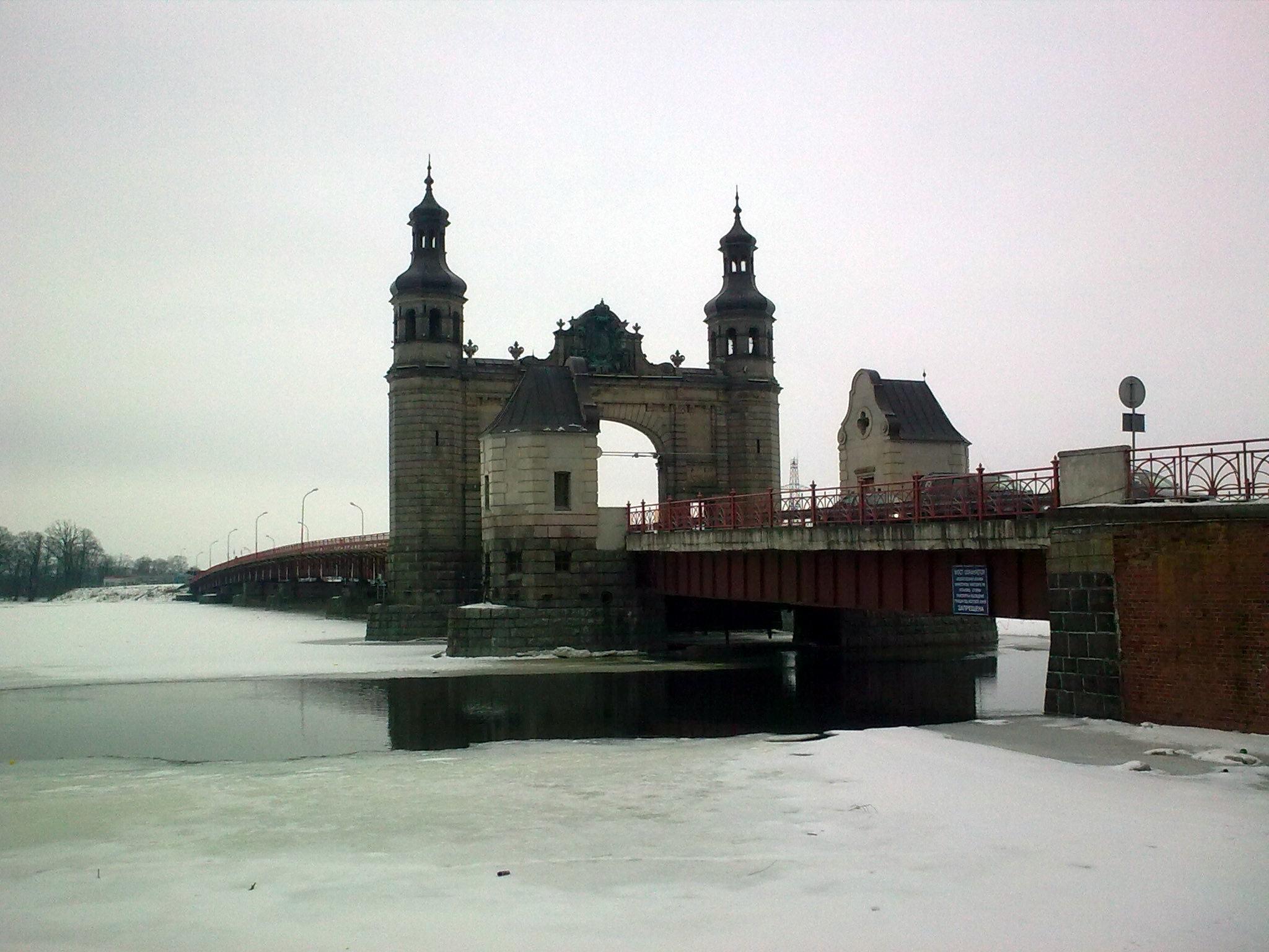 Königin Luise Brücke in Tilsit
