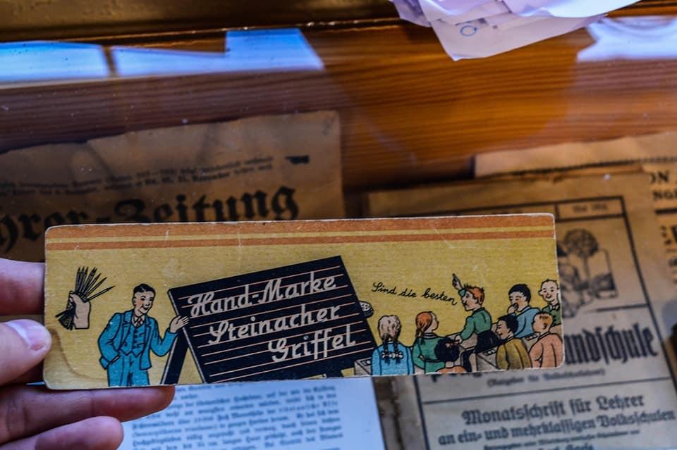 Materialien aus deutscher Zeit