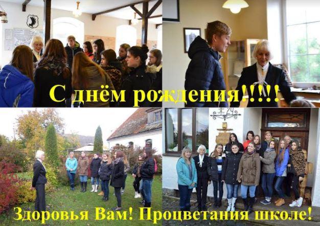 Besuch einer russischen Schülergruppe
