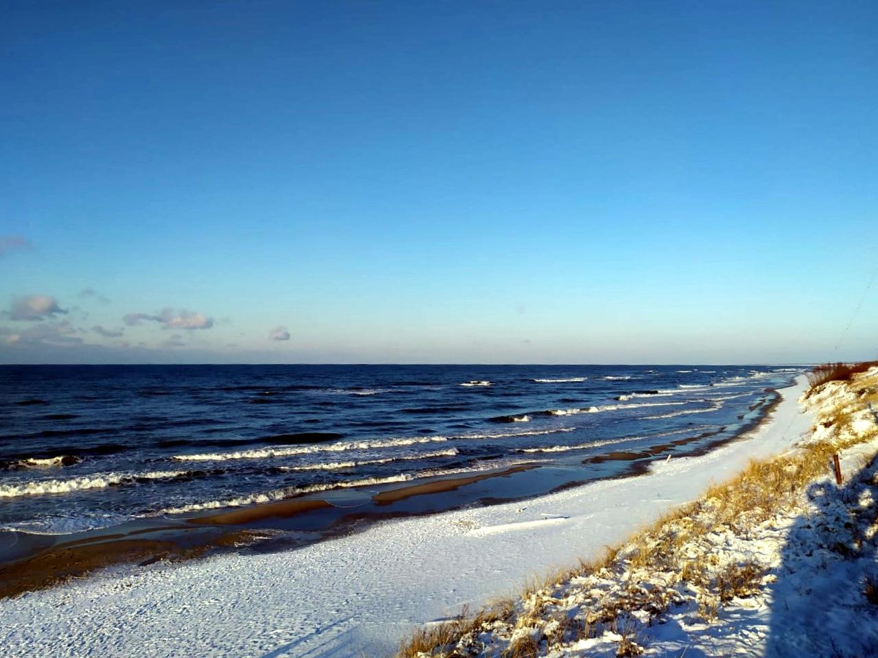 Die Ostsee auf der Kurischen Nehrung