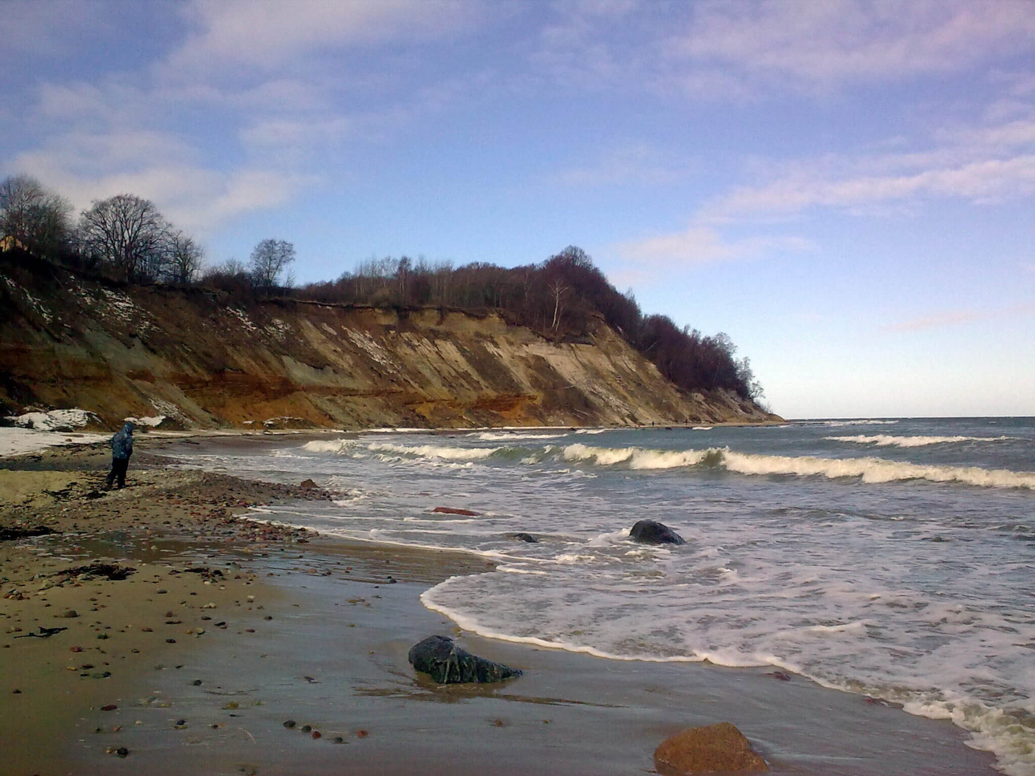 Bucht von Klein-Kuhren