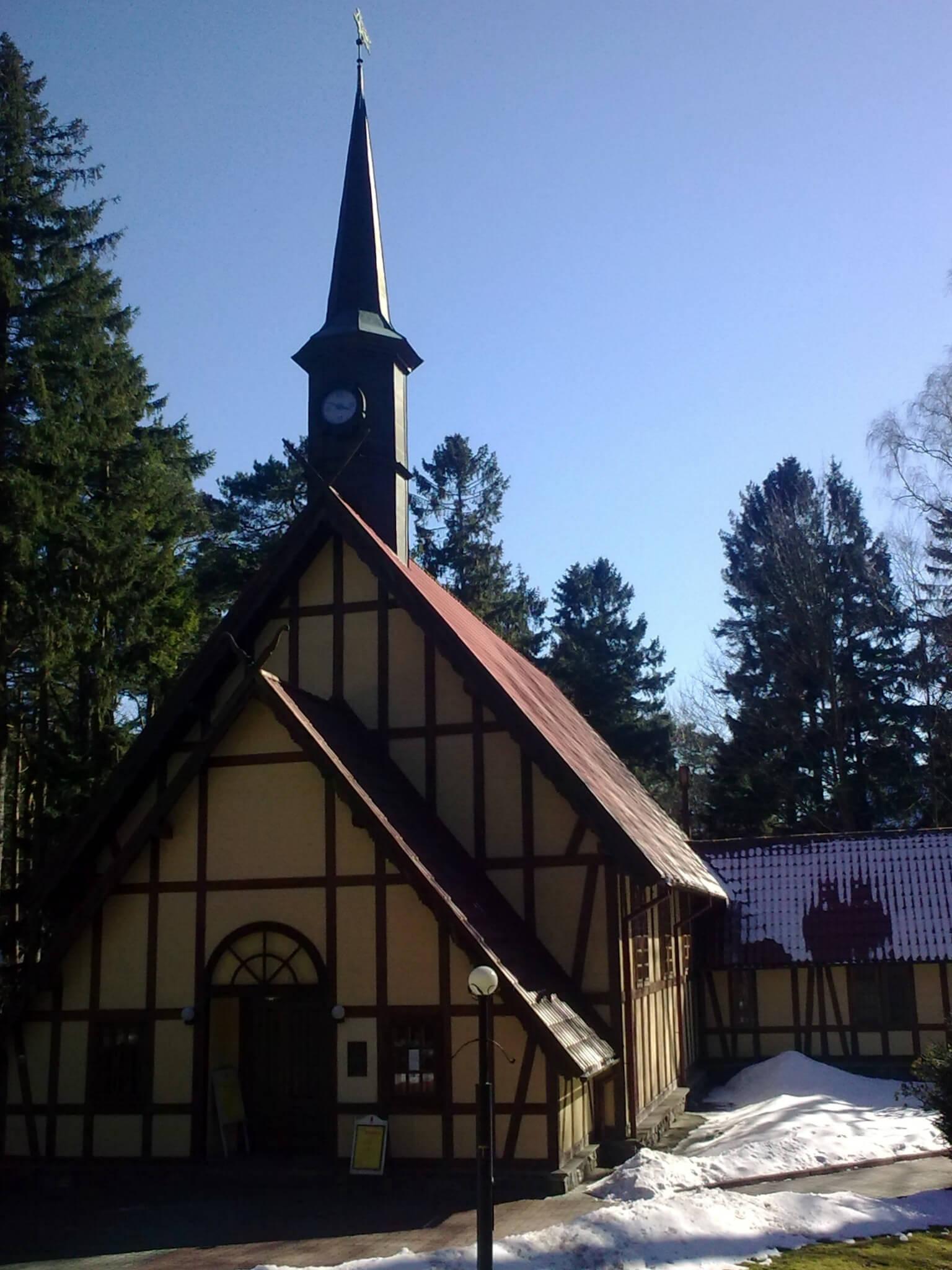 Orgelsaal in Rauschen, ehem. Katholische Kirche