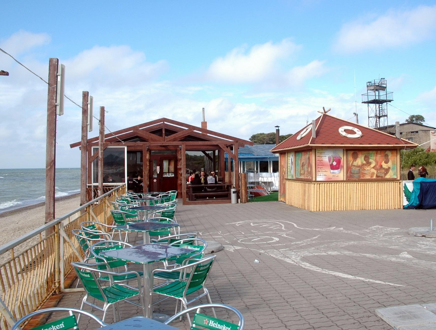Strandcafe Sarkau, Kurische Nehrung