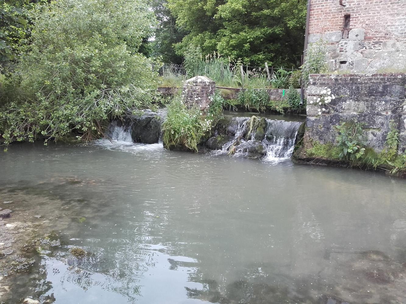Vidange du tronçon entre le répartiteur et le Moulin