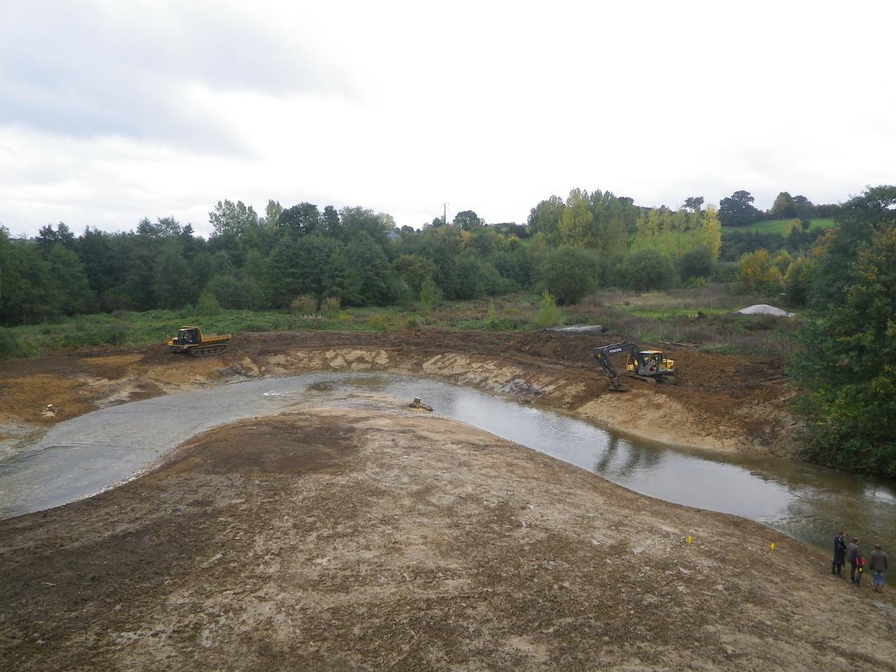 Fin octobre 2013_achevement des travaux de terrassement