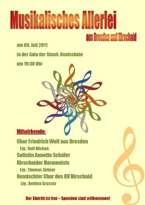 Musikalisches Allerlei - Sommerkonzert 2011