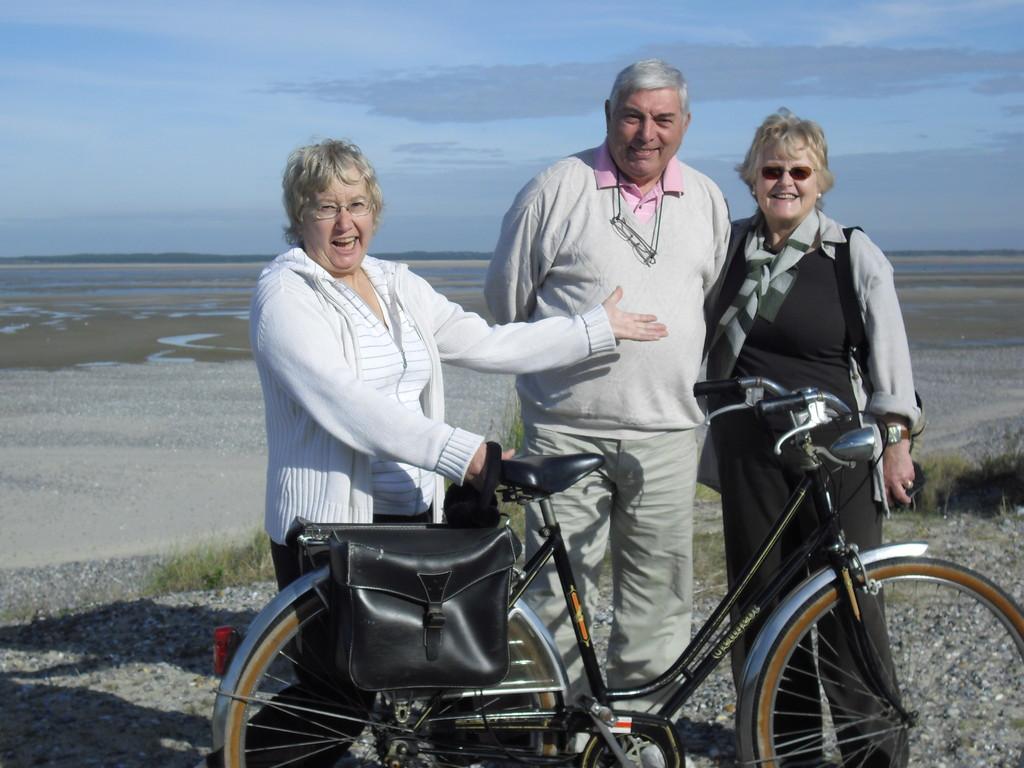 Sortie vélos sur la route Blanche