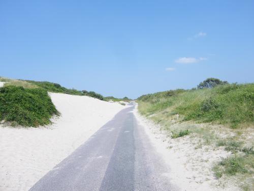 la route Blanche du HOURDEL