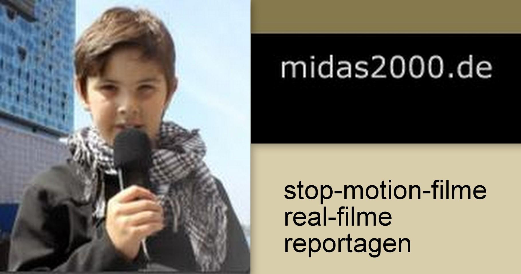 midas2000 - stop-motion-/realfilme - reportagen