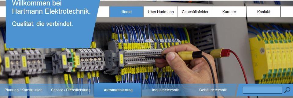 HARTMANN Elektrotechnik GmbH - an sechs Standorten!