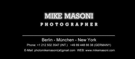 Mike Masoni - Berlin-München-New York