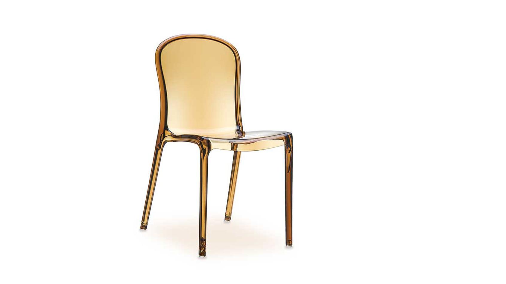 Victoria Acryl Stuhl, gefertigt aus hochfestem unempfindlichem Polycarbonat