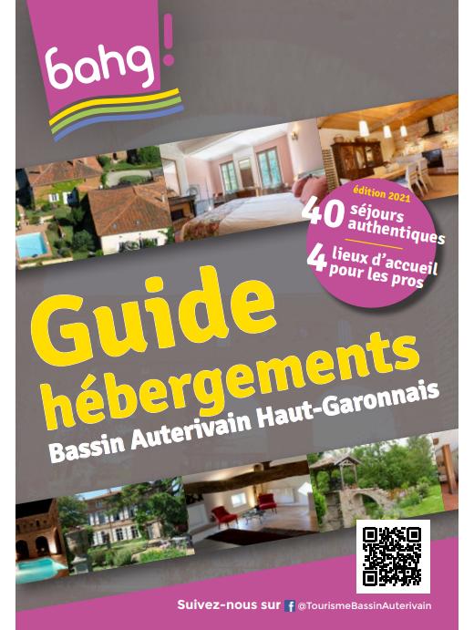 Inédit : le guide des hébergements du Bassin Auterivain !