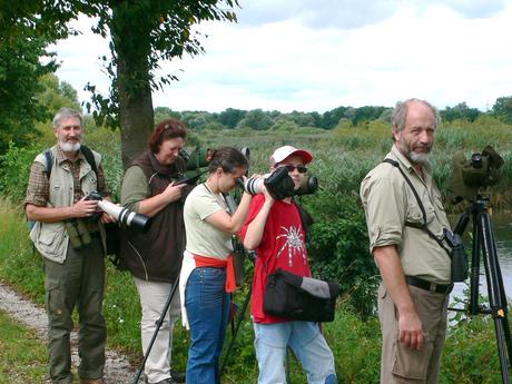 Interessante Beobachtungen machten die LBV-Mitglieder auf Ihrer Exkursion. Foto Michael Püls