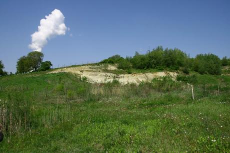 Blick auf unsere Kiesgrube in Eschlbach