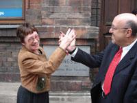 Ihre Gastgeber Elisabeth und Gerhard Rust