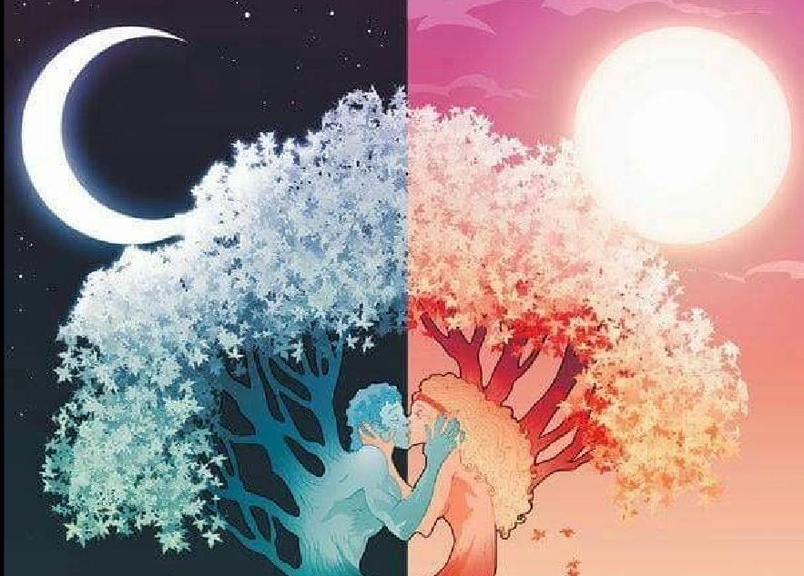 Dualität aus dem lateinischen (dualis), bedeutet Zweiheit oder zwei enthaltend. Dualität bedeutet eine Welt in 2 Pole unterteilt.