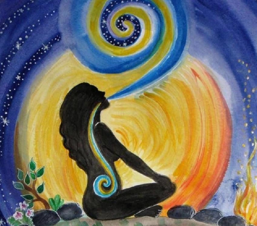 """Während der Meditation wird die Aufmerksamkeit auf ein """"Objekt"""" gerichtet."""