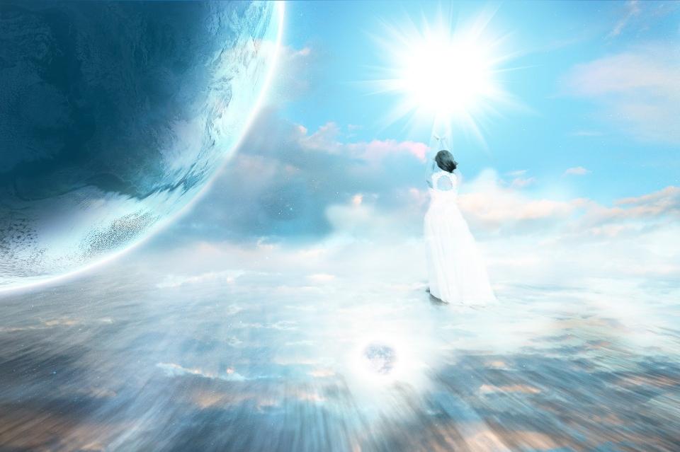 Engel sind machtvolle, schöpferische Lichtwesen, deren Wirkungsbereich sich durch alle Ebenen des Universums erstreckt.